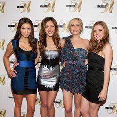 Nina, Kayla, Candice und Sara