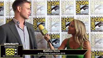 Matthew Davis (Legacies) San Diego Comic-Con 2018