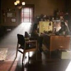 Shanes Büro