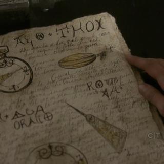 Die Beschreibung des Kompass in Emilies Grimoire