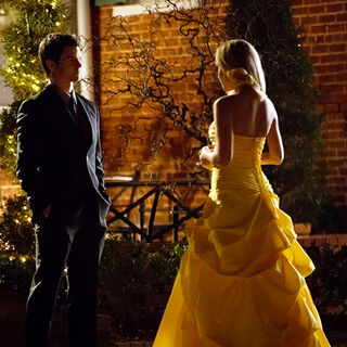 Elijah and Rebekah at the prom.