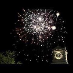 Founder's Day fireworks
