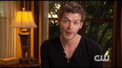 The Vampire Diaries - CW Connect - Joseph Morgan