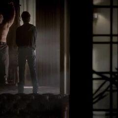 Stefan pays a visit to Klaus