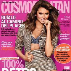 Cosmopolitan — Nov 2013, Mexico, Nina Dobrev