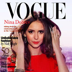 Vogue — 2012, United States, Nina Dobrev