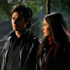 Damon and Elena.