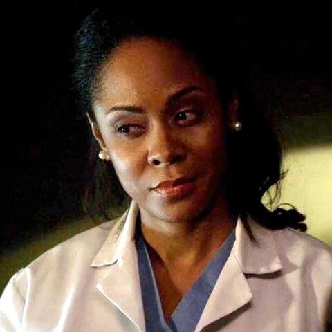 Gespielt von: Tasia Grant<br /><b>Ärztin</b><br />Sie ist <a href=