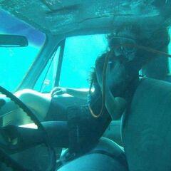 BTS Underwater scene