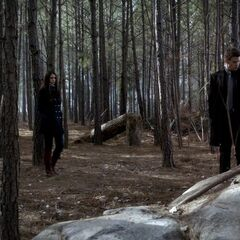 Elijah shows Elena were he used to play when he was a child