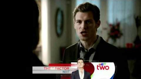 """The Vampire Diaries Klaus and Michael reunite Klaus kills Michael-""""Homecoming""""-(3X09)"""