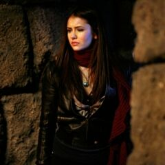 Elena in the tomb.