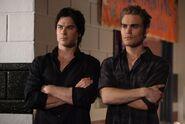 Stefan und Damon
