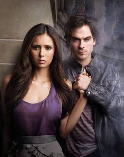 Vampire diaries elena and damon hookup