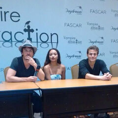 Ian Somerhalder, Kat Graham, Paul Wesley