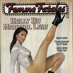 Femme Fatales — May 1999, United States, Kelly Hu