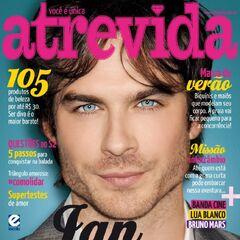 Atrevida — Jan 2, 2012, Brazil, Ian Somerhalder
