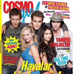 Cosmo Girl — Aug 2013, Turkey