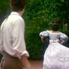 Katherine took the ball