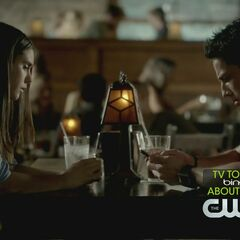Elena und Tyler im Grill