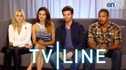 """The Originals"" Interview - Comic-Con 2013 - TVLine"