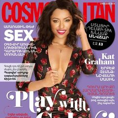 Cosmopolitan — Aug 2014, Armenia, Kat Graham