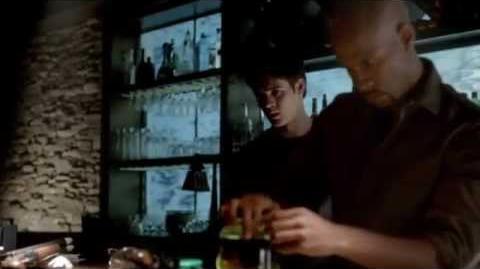 Vampire Diaries 4x05 The Killer - Dean triggers the bomb & Connor kills him