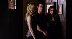 Caroline, Enzo and Elena 5x18
