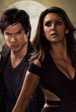 Vampire diaries do damon and elena ever hook up