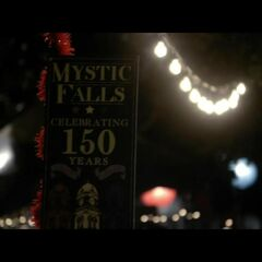Mystic Falls celebrating 150 years