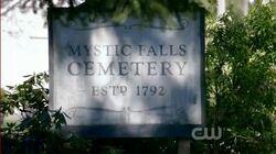 Mystic Falls Friedhof