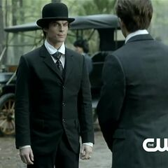 Damon and Stefan's first meeting in 1912 after 50 years.
