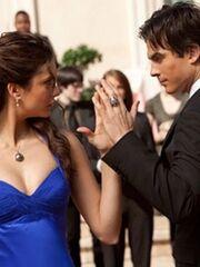 Miss Mystic Falls Damon Elena1