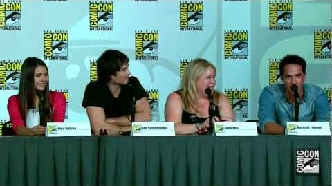 The Vampire Diaries Season 4 Comic-Con 2012 Panel HD