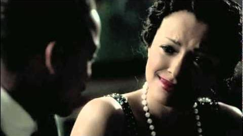 Bonnie and Jamie kissing Damon 'Sorry to spoil your 7 minutes in heaven' 3x20