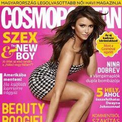 Cosmopolitan — Oct 2013, Hungary, Nina Dobrev