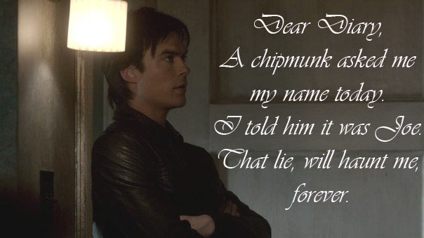Damon Chipmunk Quote Tvd Copy