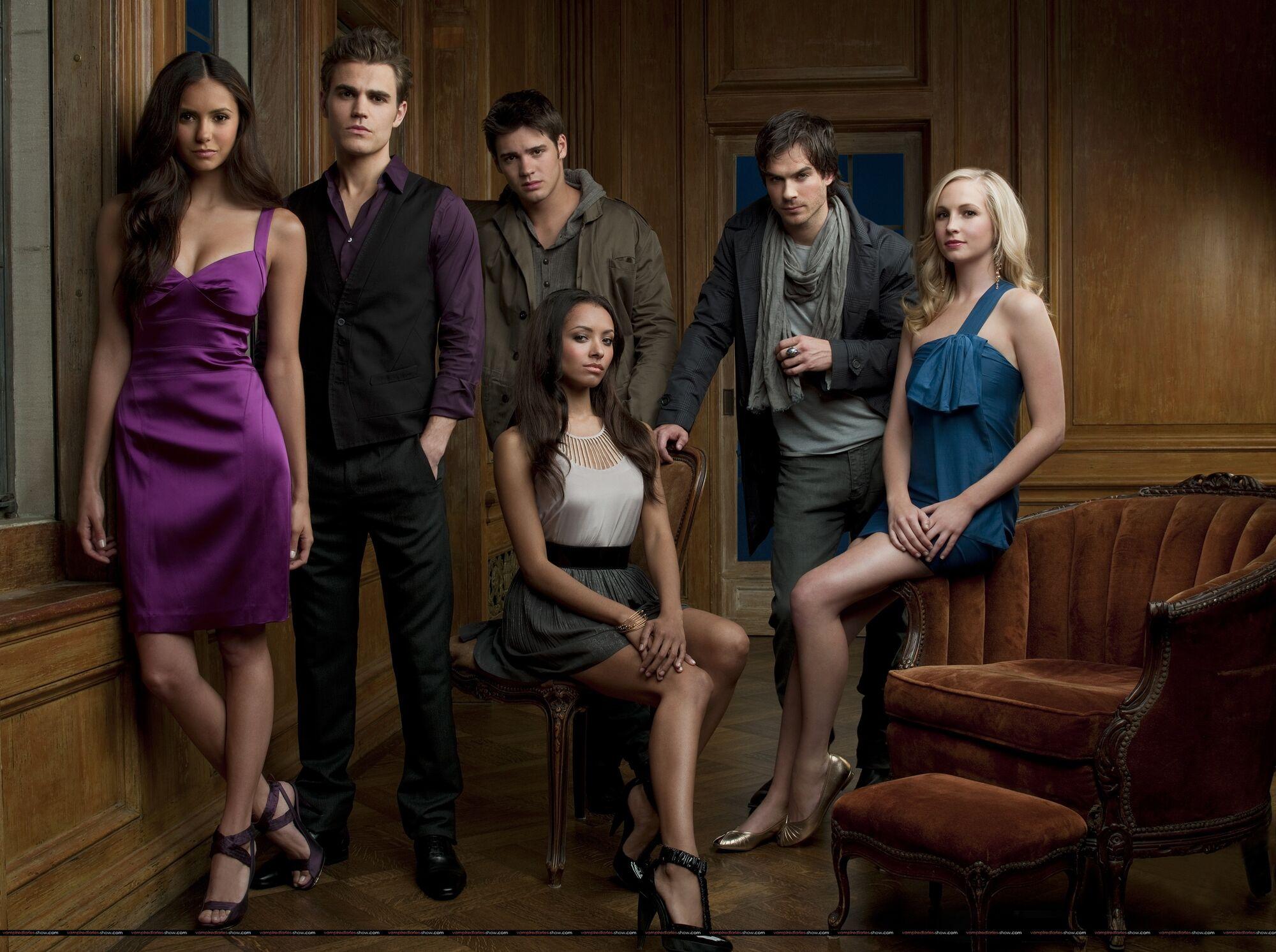 Risultati immagini per TVD cast season 1