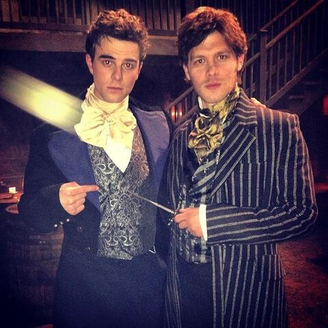 Kol and Niklaus Mikaelson