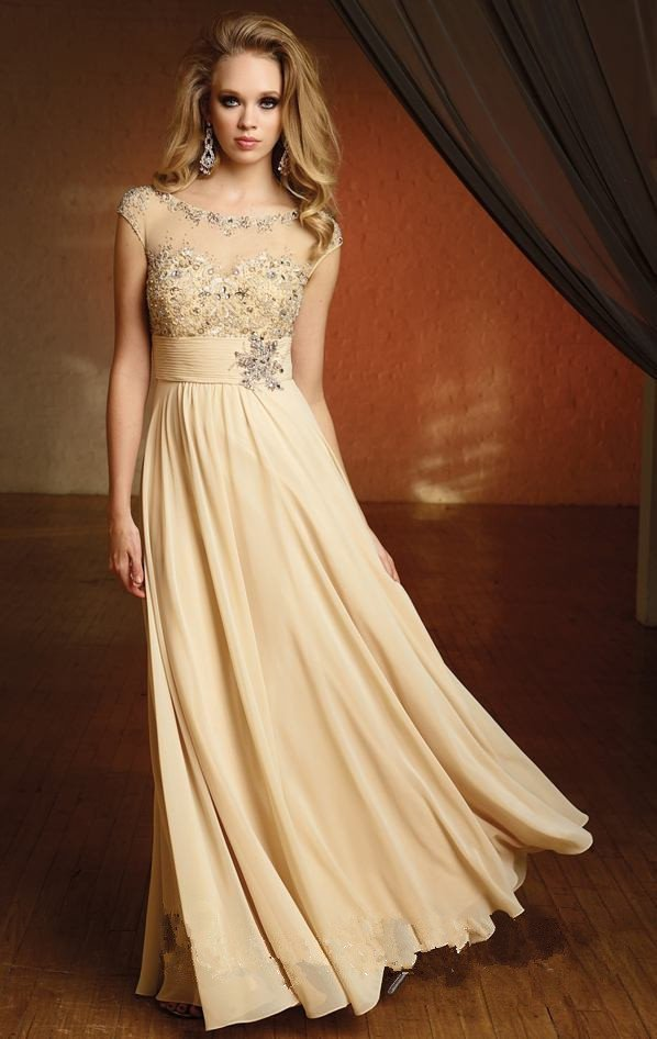 Image - New-Long-Chiffon-Evening-Prom-Party-Cocktail-Dresses-Wedding ...