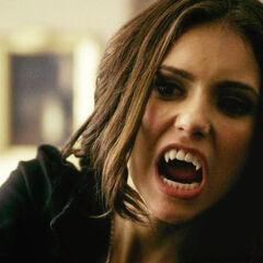 Katherine Vampirgesicht