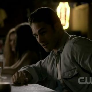 Mason in the bar