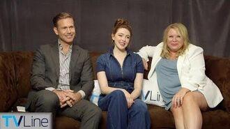 'Legacies' Cast & Julie Plec Interview Comic-Con 2018 TVLine