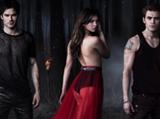 Stefan, Elena und Damon