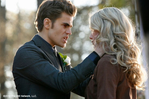 Who is stefan dating in vampire diaries
