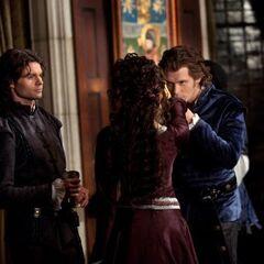 Elijah, Niklaus and Katerina