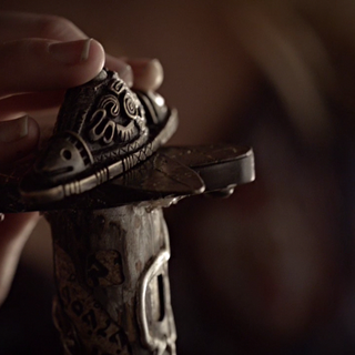The sword hilt