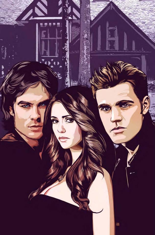 The Vampire Diaries Digital Comic The Vampire Diaries