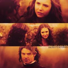Elijah und Katherine reden über liebe...