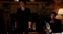 Damon and Enzo in 5x20